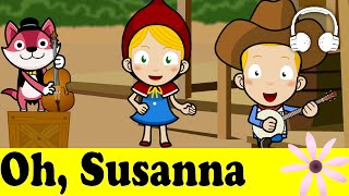 Oh, Susanna! | Family Sing Along - Muffin Songs
