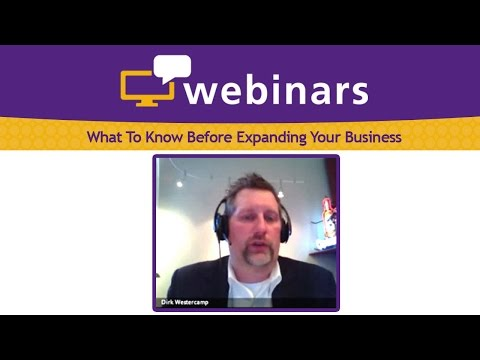 What To Know Before Expanding Your Business, Dirk Westercamp