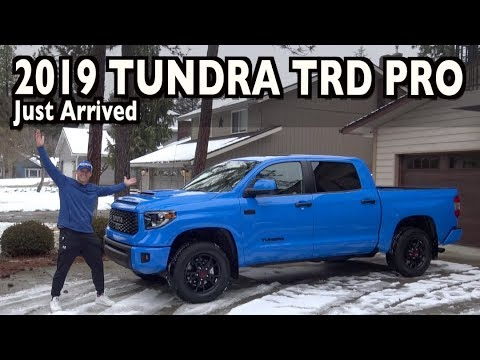Just Arrived: 2019 Toyota Tundra TRD Pro CrewMax on Everyman Driver