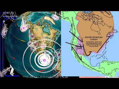 2/16/2018 -- Large Earthquake activity strikes Pacific -- Oregon, Washington, California on Watch