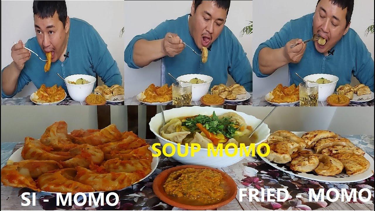 Download THREE DIFFERENT TYPES OF MOMO. तीन प्रकार को म:म खाँदै। SI MOMO, SOUP MOMO & FRIED MOMO. PORK MOMO.