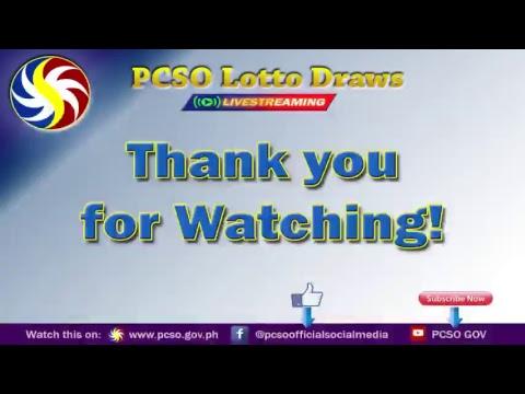 [LIVE] PCSO Lotto Draws-October 9, 20189:00PM