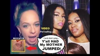 Mariah Lynn Expose Nicki Minaj had Rah Ali JUMP her Mom Not Cardi B's ???? (Video)