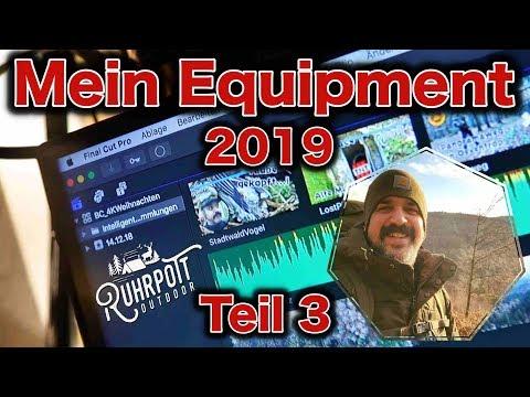 Video Equipment 2019 - Teil 3 - Software - FinalCutPro X - Ruhrpott Outdoor