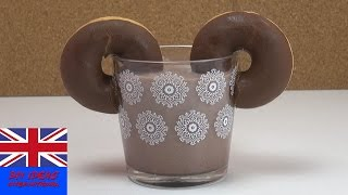 Micky Mouse drink: Chocolate Mickey Mouse drink - Tutorial How To Do drinks quick!