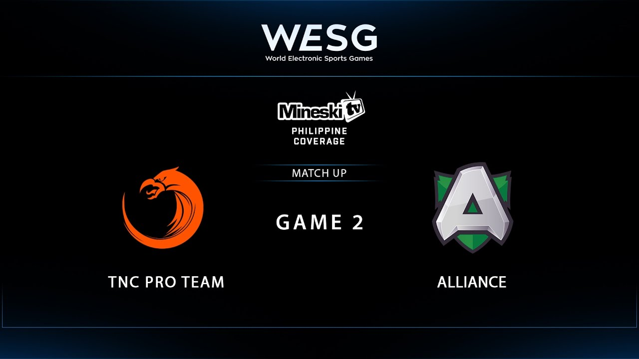 WESG 2017 | TNC Pro Team vs Alliance | Game 2