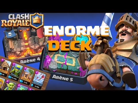 Monter en ar ne 5 et 6 meilleur deck sans pique 1 for Clash royale meilleur deck arene 7