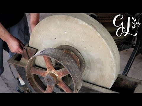 Putting the ANTIQUE GRIND STONE Back to Work!!! Restoring an Entire Blacksmithing Shop Series!