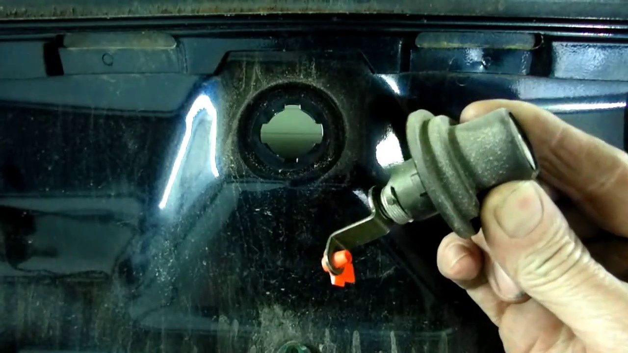 Trunk Lock Cylinder Removal Youtube