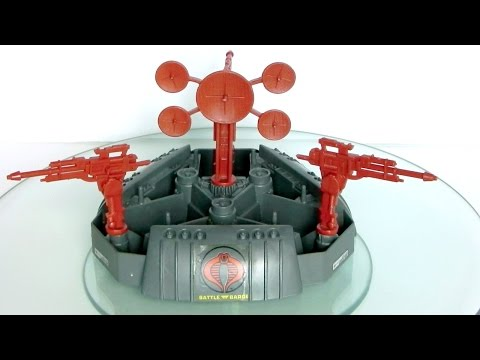 1988 Cobra Battle Barge (battle station) G.I. Joe review