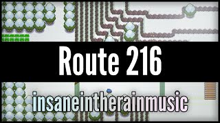 Pokemon Diamond / Pearl / Platinum: Route 216 - Jazz Cover || insaneintherainmusic