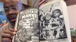 Marvel essentials With Captain Marvel and Iron Man 55
