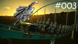 Achterbahnen und Superman | Planet Coaster #003