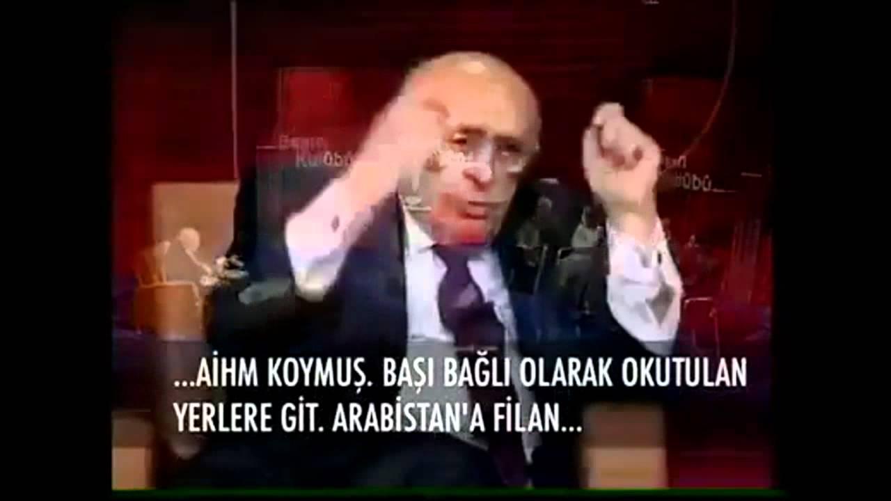Süleyman Demirel: Türban Gericiliktir, Başörtülüler Arabistan'a Gitsin ! (HD) - YouTube