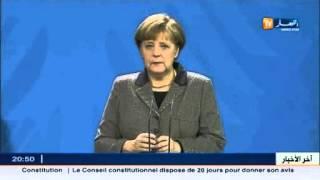ألمانيا: أنجيلا ميركل تشيد بالتعديلات الجديدة على الدستور الجزائري