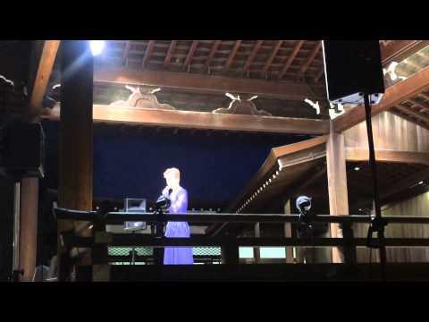 靖国神社みたままつり2015 日本歌手協会有志奉納特別公演