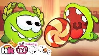 Cartoon | Om Nom Stories: Ancient Greece | Funny Cartoons For Children | HooplaKidz TV