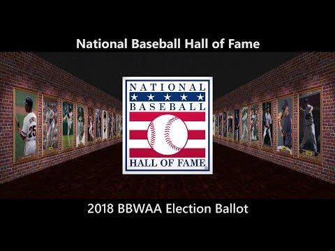 2018 BBWAA Election Ballot
