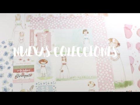 ¡¡NUEVAS COLECCIONES!!! papeles de scrapbooking