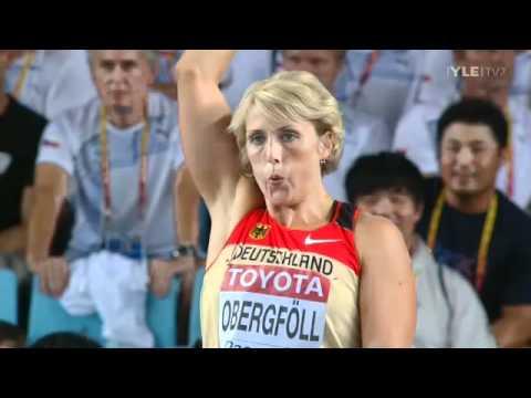 Javelin Throw Women Final - Maria Abakumova 71,99m and Barbora Spotakova 71,58m