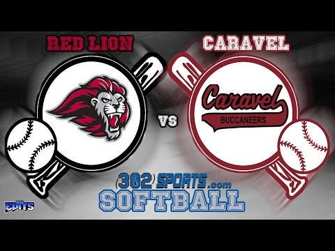#5 Red Lion visits Caravel Academy Softball Live from Caravel
