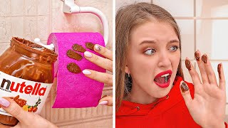 CRAZY APRIL FOOL PRANKS ON FRIENDS || Cool And Funny DIY Pranks by 123 GO!