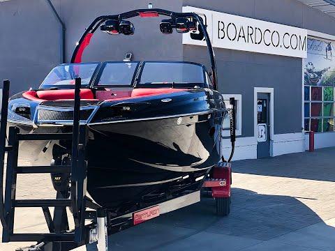 2019 Centurion Ri237 Walkthrough - Black / Red Wakesurf Boat for Sale in Utah
