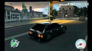 GTA-4:БПАН-без посадки авто нет.Ваз 2109.#7