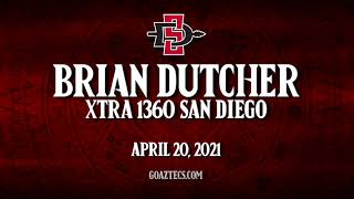 SDSU MEN'S HOOPS: BRIAN DUCTHER - XTRA 1360 SAN DIEGO
