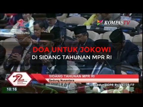 Doa untuk Jokowi di Sidang Tahunan MPR RI