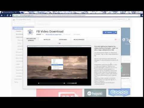 Facebook Video Download [Chrome][Extencion]