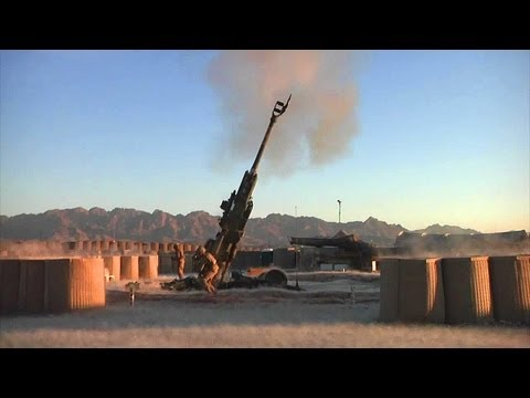 Gunners Fire GPS-guided M982 Excalibur Round Out of the M777 Howitzer | AiirSource