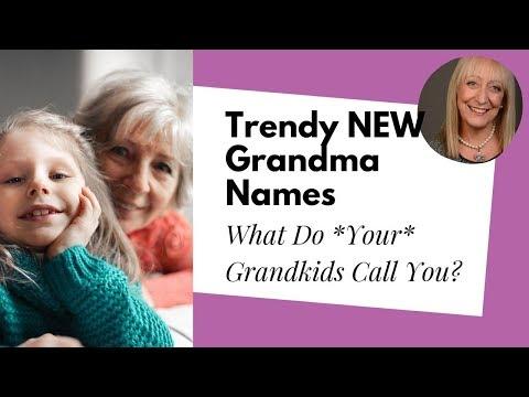 Trendy New Grandma Names - Coco, Neema, GaGa And…