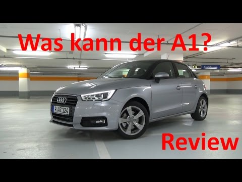 Audi A1 Sportback (2017) - Was kann der Edel-Polo? - Review / Test / Drive