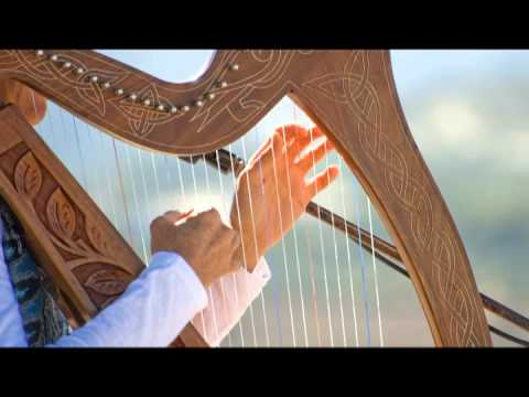 Harp Music Tibetan - Celestial Relaxing 432 hz Strings Solo