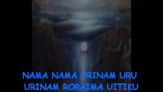 URINAM ~ Disco Solar de Roraima ~ Mantra Irdín Cantado