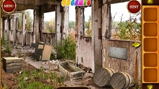 Can you escape ruined castle - soluce