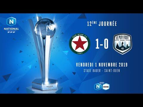 J12 | Red Star FC - Le Puy Foot Auvergne 43 (1-0), le résumé | National FFF 2019-2020