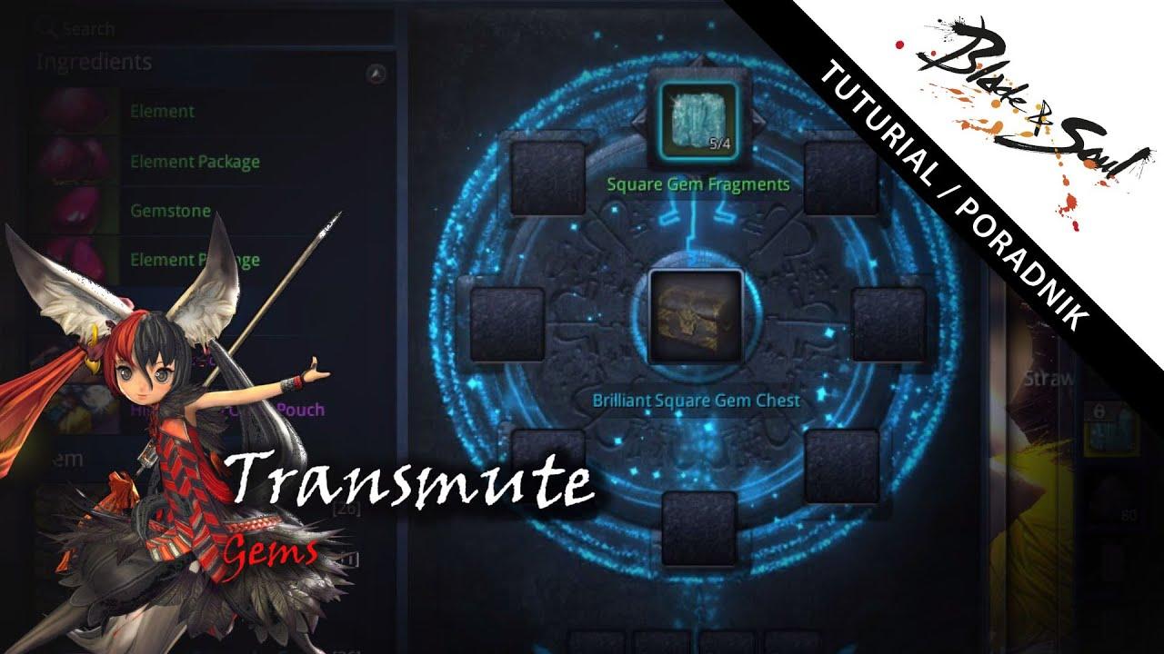 Blade Amp Soul Transmute Gems Youtube