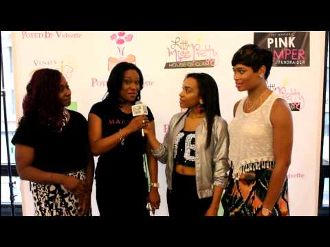 1st Annual Pink Pamper Expo Fundraiser 2014 Pink Carpet Hosted by BKS1 Radio's OWWHH Show