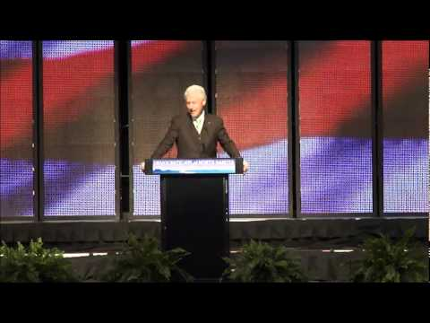 N.D. Democratic-NPL convention 2012: Former President Bill Clinton addresses North Dakota Democrats