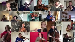 Amid coronavirus, Dutch orchestra stages virtual performance from homes