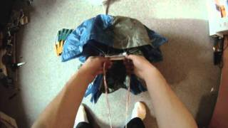 How To Flat-Pack A Mini-Parachute: Part 1: Preparation