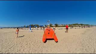 Video 360 della Spiaggia al Camping Onda Azzurra di Corigliano Calabro, Cosenza, in Calabria