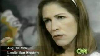 Leslie Van Houten (3) CHARLES MANSON FAMILY Interviewed Larry King Live Backporch Tapes Collection