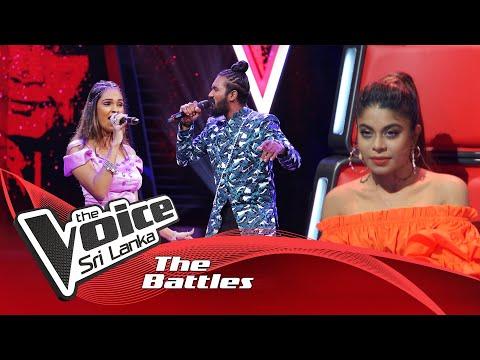 The Battles : Rashini Imasha V M.Sathurshan   Jabra Fan Song   The Voice Sri Lanka