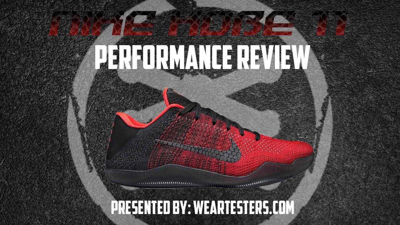 official photos ae502 60edc Nike Kobe XI (11) Elite - Performance Review - YouTube