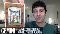 GEMINI April 2019 Extended Monthly Intuitive Tarot Reading by Nicholas Ashbaugh