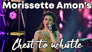 8 TIMES MORISSETTE AMON SLAYED CHEST TO WHISTLE TRANSITION