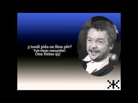 Eesti laulud - korralik kompost Eesti peole!
